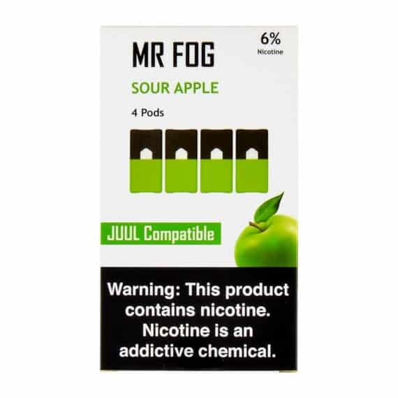 Mr Fog Sour Apple Pods Canada