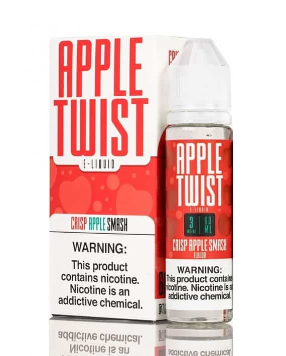 Crisp Apple Smash Twist Eliquid 60mL