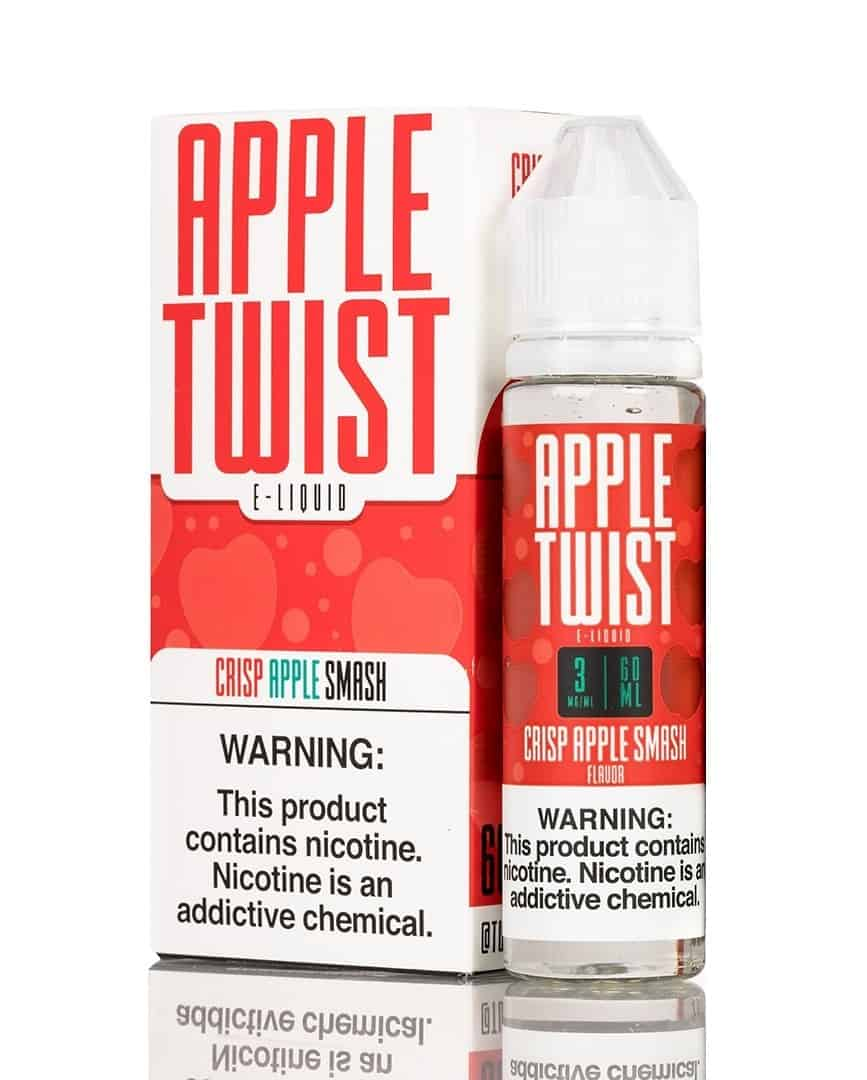 Crisp Apple Smash Twist Eliquid 60mL