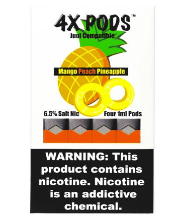4x Mango Peach Pineapple Pods for JUUL Canada