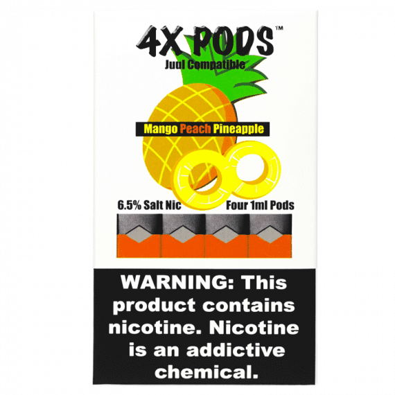 4x Mango Peach Pineapple Pods for JUUL Canada