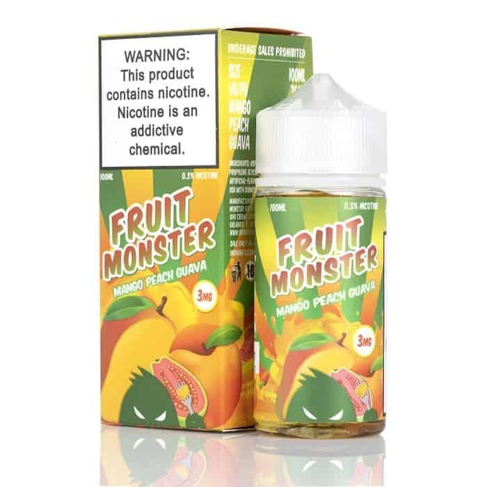 Fruit Monster 100ml Ejuice Mango Peach Guava Canada