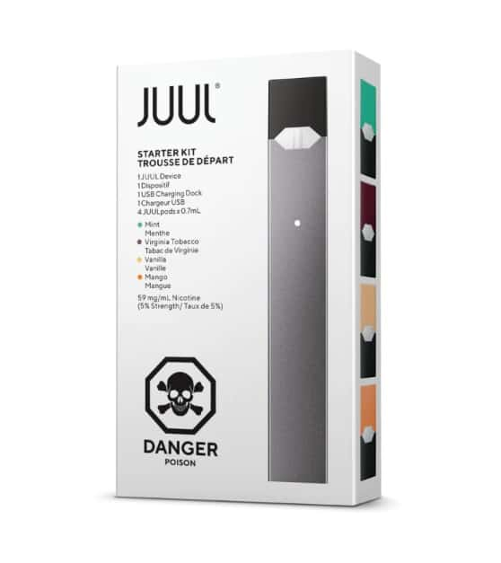 JUUL Starter Kit (Canada) - 4 Pods Included