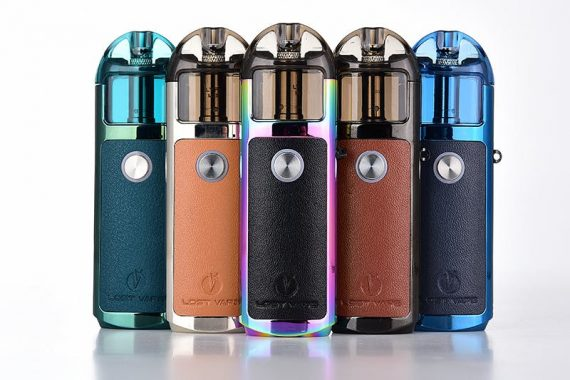 Lost Vape Lyra Pod System Leather Colours Canada