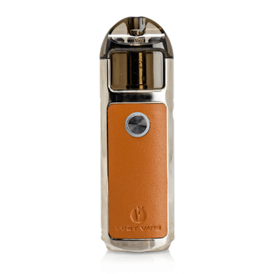 Lost Vape Lyra Pod System Silver Leather Canada