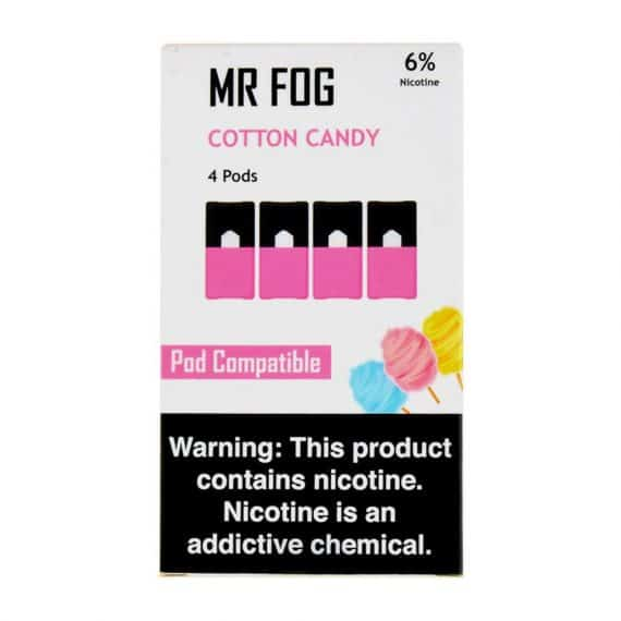 Mr. Fog Cotton Candy JUUL Pods Canada