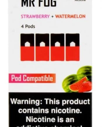 Mr. Fog Strawberry & Watermelon Flavoured JUUL Pods 4-Pack Canada