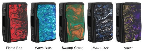 Vandy Vape Swell 188W Mod Resin Colours