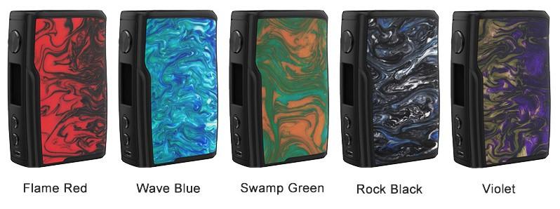 Vandy Vape Swell 188W Mod Resin Colours