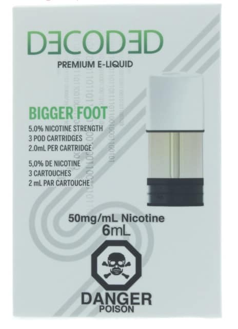 Decoded STLTH Pod 3-Pack Bigger Foot Canada