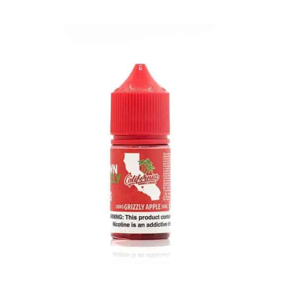 California Grown E-Liquids Nic Salt Grizzly Apple Canada