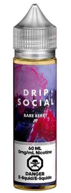 Bare Berry E-Liquid by Drip Social 60ml Canada