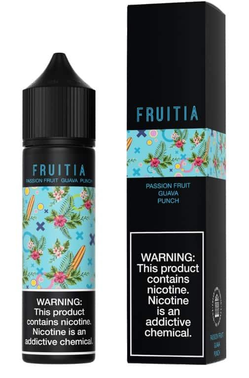 "Fresh Farms E-Liquid Fruitia Collection ""Passionfruit Guava Punch"" Canada"
