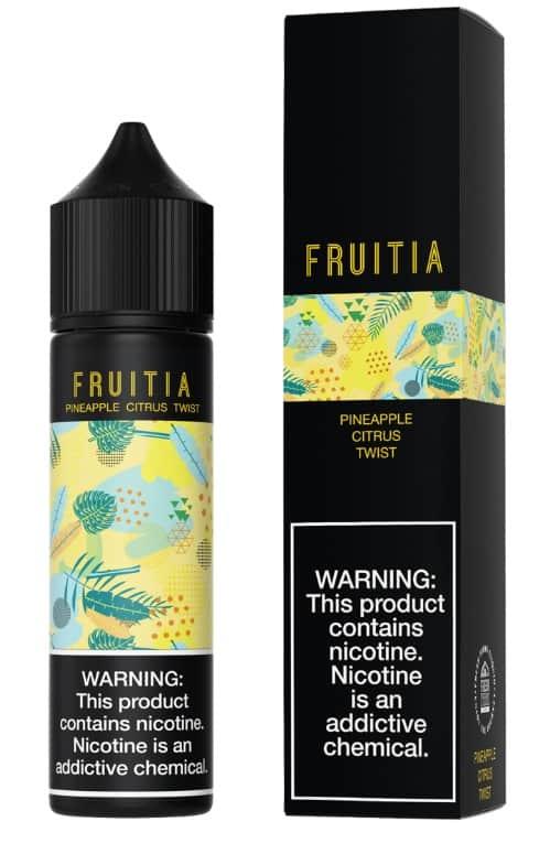 "Fresh Farms E-Liquid Fruitia Collection ""Pineapple Citrus Twist"" Canada"