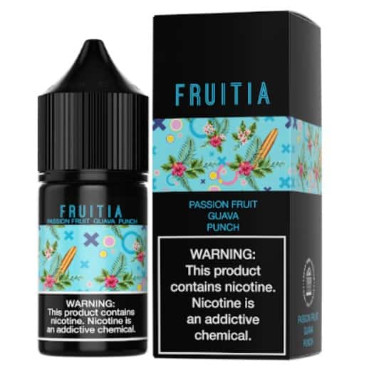 "Fresh Farms E-Liquid Fruitia Salt NicCollection ""Passionfruit Guava Punch"" Canada"