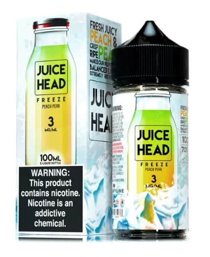 Juice Head Freeze Series Peach Pear Canada