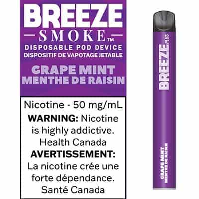 Breeze Grape Mint Canada