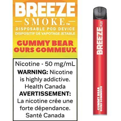 Breeze Gummy Bear Canada