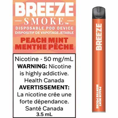 Breeze Peach Mint Canada