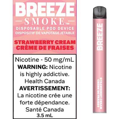 Breeze Strawberry Cream Canada