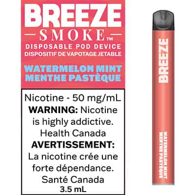 Breeze Watermelon Mint Canada