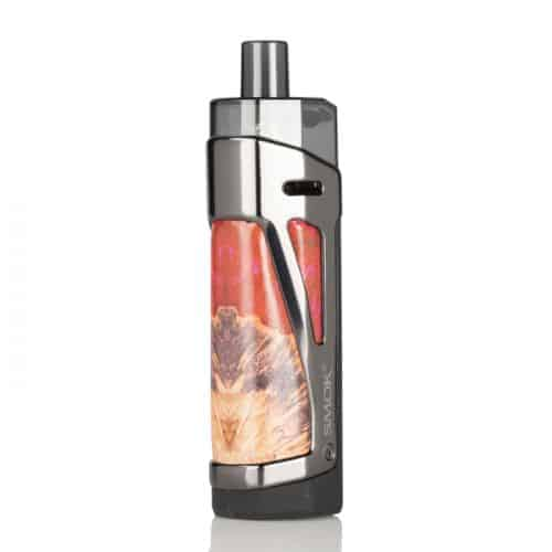 SMOK SCAR-P3 80W Open Pod Kit Red Stabilizing Wood Canada