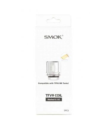 SMOK TFV9 Replacement Coils 0.15ohm 5-Pack Canada