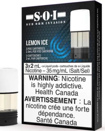 STLTH SOI Pods Lemon Ice Canada