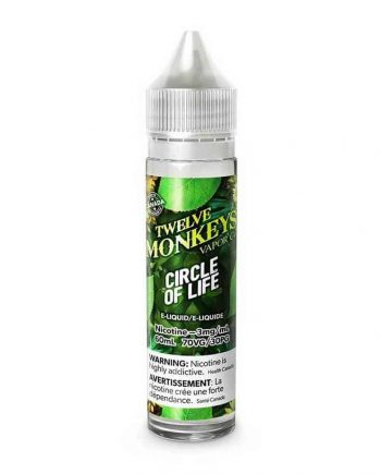 Twelve Monkeys Premium E-Liquid Circle of Life Canada