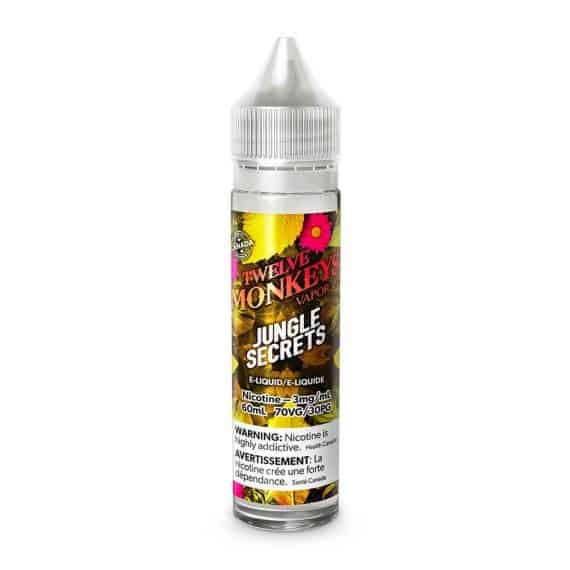Twelve Monkeys Premium E-Liquid Jungle Secrets Canada