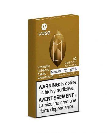 Vuse Canada Aromatic Tobacco Pods