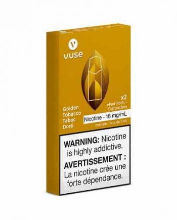 Vuse Canada Golden Tobacco Pods