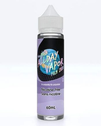 All Day Vapor E-Liquid 60ml Palm Crush Canada
