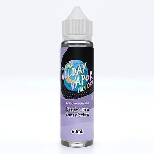 All Day Vapor E-Liquid 60ml Palm Crush Canada