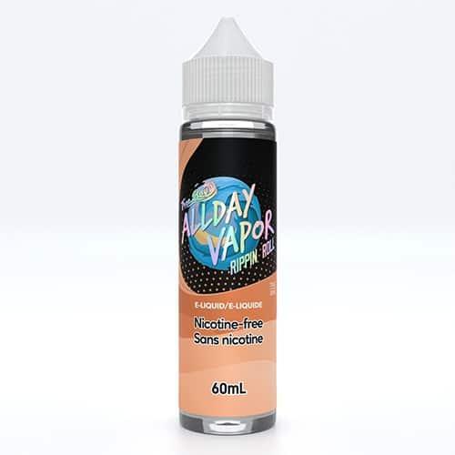 All Day Vapor E-Liquid 60ml Rippin' Roll Canada