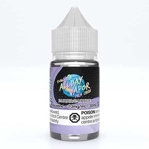 All Day Vapor Nic Salts 30ml Palm Crush Canada