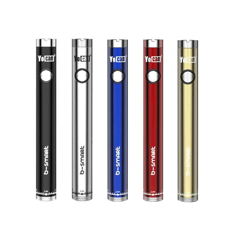 Yocan B-Smart Vape Battery Colours Canada