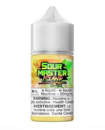 "Sour Master Salts ""Island"" (30ml) Canada"