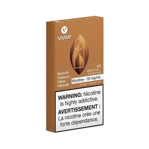 VUSE Smooth Tobacco Pods