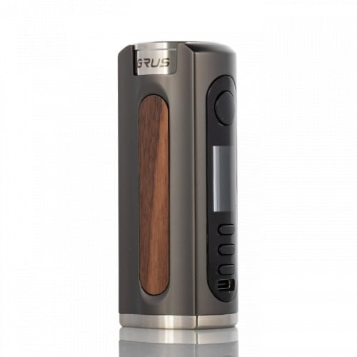 Lost Vape GRUS Box Mod Gunmetal Walnut Wood Canada