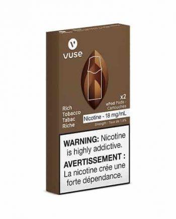 VUSE Rich Tobacco Pods