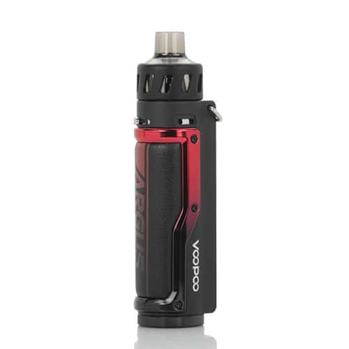 VooPoo Argus Pro Kit Litchi Leather Red Canada