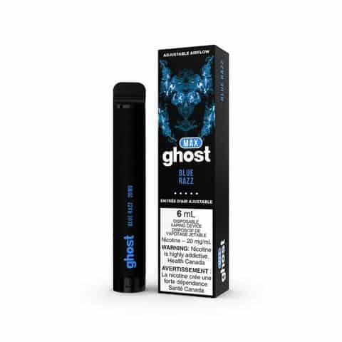 GHOST MAX Disposable Vape Pen BLUE RAZZ Canada