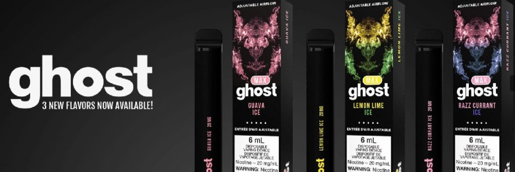 Ghost Max New Flavours Canada