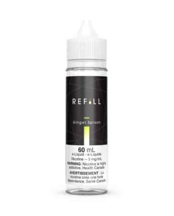 Refill E-Liquid 60ml Ginger Splash Canada