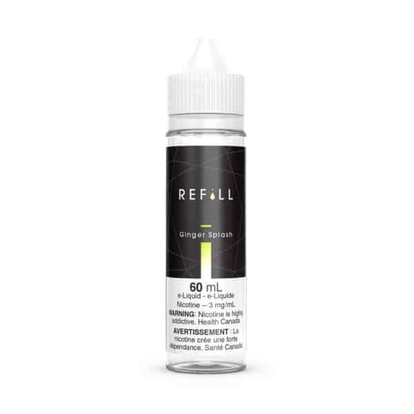 Refill E-Liquid 60ml Ginger Splash Canada