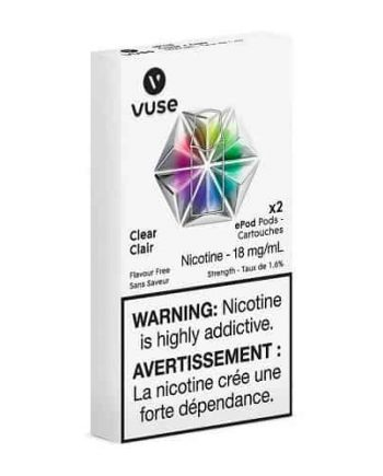 VUSE Clear Pods Canada