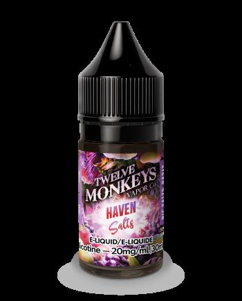 Twelve Monkeys Haven Salt Nic Canada
