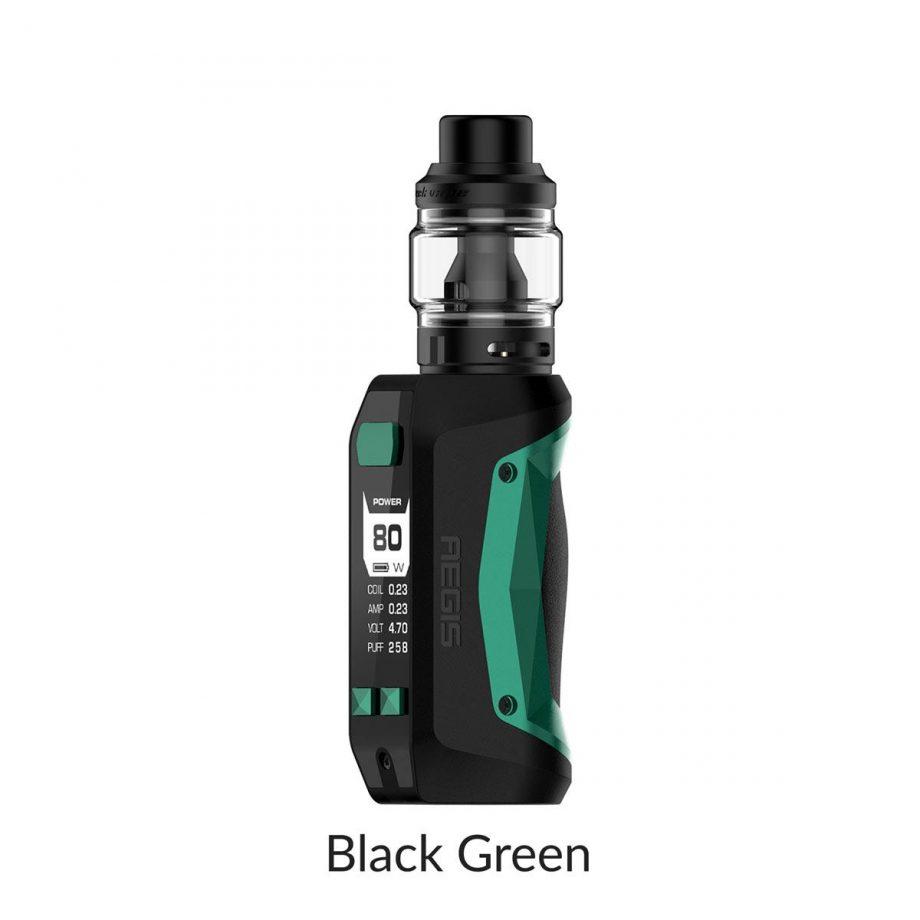 "*CRC* Geekvape Aegis Mini Kit w/ Obelisk Tank ""Black Green"" Canada"