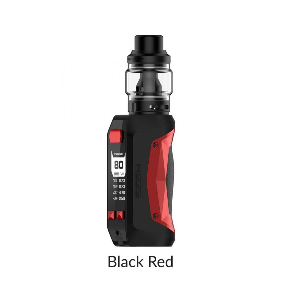 "*CRC* Geekvape Aegis Mini Kit w/ Obelisk Tank ""Black Red"" Canada"